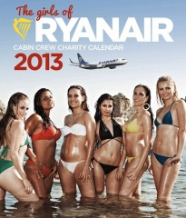calendario sexy 2013, calendario 2013 Ryanair , hostess sexy, calendario hot 2013