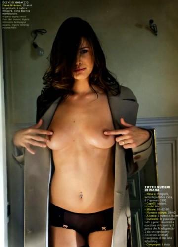 Ivana Mrazova, hot Ivana Mrazova, sanremo 2012, modella Ivana Mrazova, valletta sanremo,